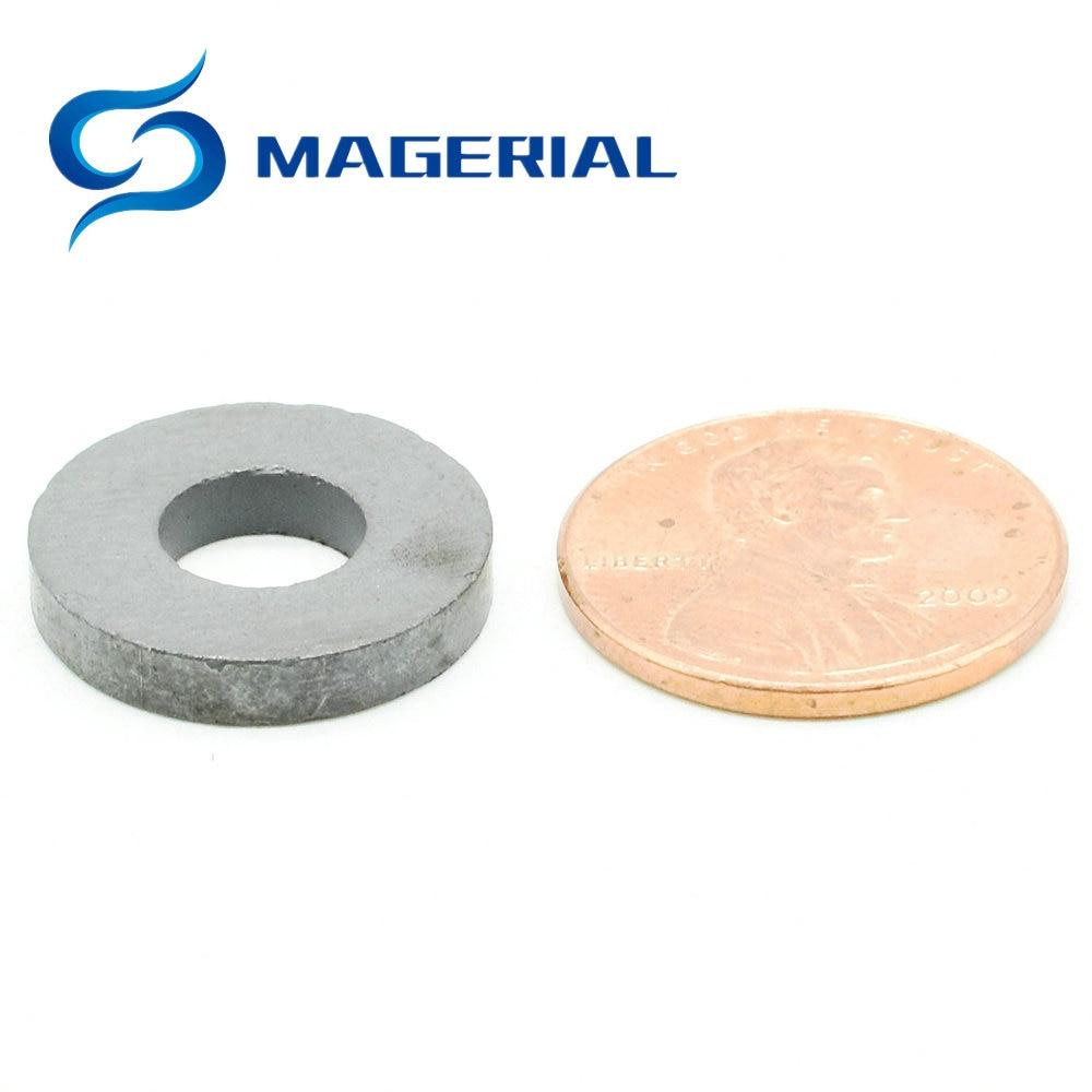 1 pack Ferrite Magnet Ring OD 17.5x7.5x3.5 mm Grade C8 Ceramic Magnets for DIY Crafts Loud Speaker Sound Box Board Sub Woofer ferrite magnet ring od 190x90x20 mm 7 5 large for subwoofer grade c8 ceramic magnets for diy loud speaker sound box home use
