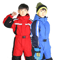 Warm Winter Kids Girls Boys Ski Suit Set Waterproof Children Snow Suit 2T 4T 6T Children Romper Overall Windproof Jumpsuit