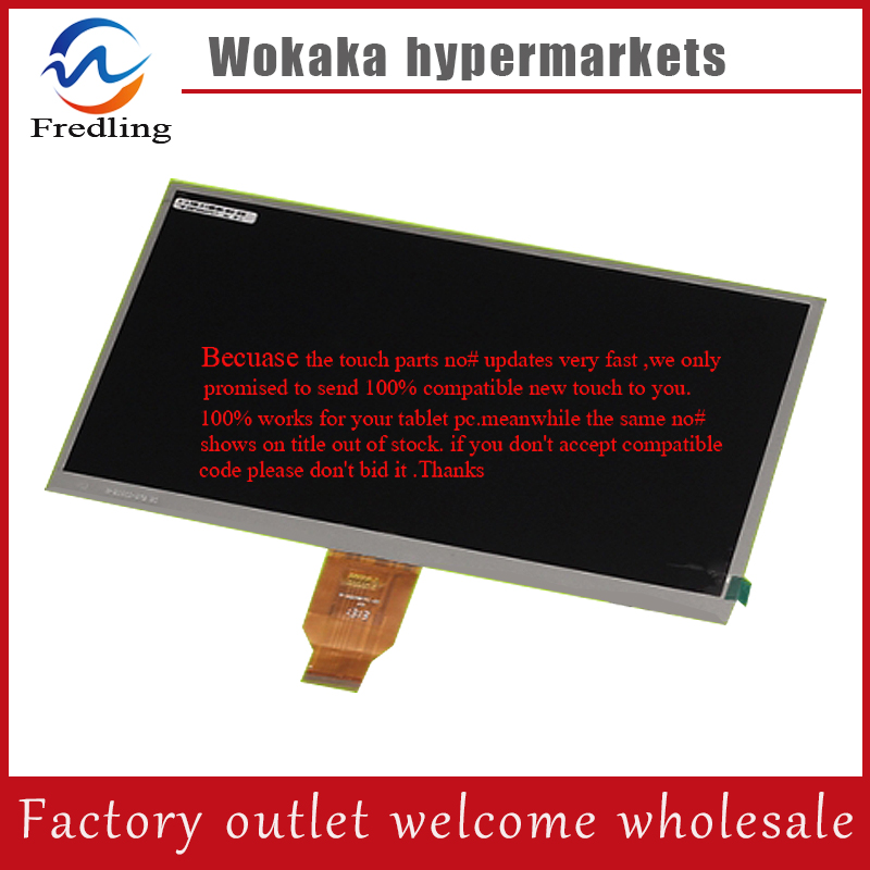 New LCD Display Matrix 10.1 Wolder miTab Genius tablet inner TFT LCD screen Panel Module Lens Glass Replacement Free Shipping original new 8 0inch gl080001t0 50 v1 lcd display for newman t9 monokaryon tablet pc tft lcd display screen panel free shipping