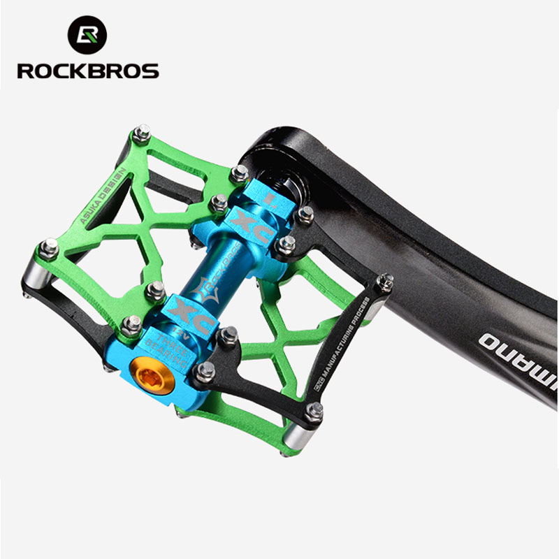 Alloy Mountain Road Sealed Bearing Platform Pedal Cycling Bicycle Parts X