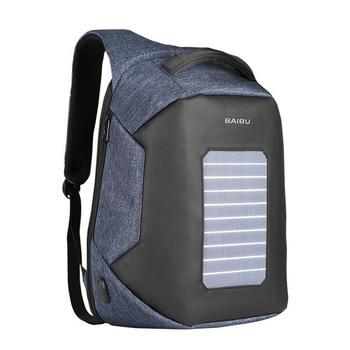 BaiBu Solar Energy 15.6inch Laptop Backpack