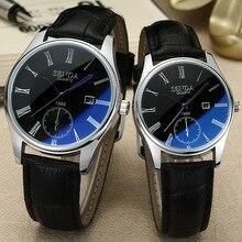 SENDAS New Fashion Casual Womens Mens Wristwatch Roman Numerals Date Waterproof Quartz Lov