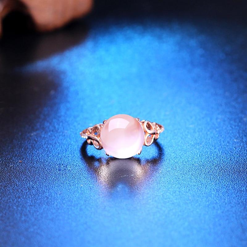 YWM 925 ստերլինգ արծաթագույն էմալ օղակ - Նուրբ զարդեր - Լուսանկար 3