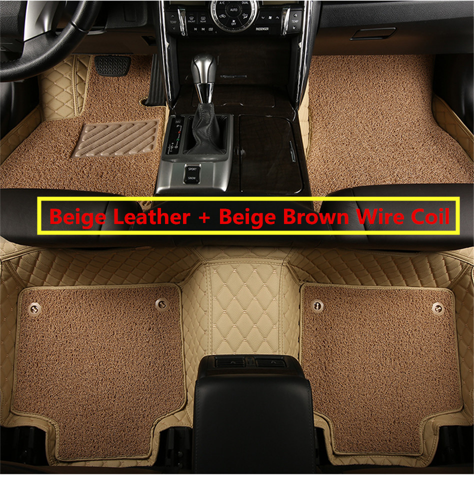 Rubber floor mats toyota camry - Auto Floor Mats For Toyota Camry 2012 2013 2014 Foot Carpets Car Step Mat High Quality