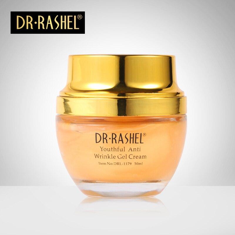 24k Real gold atom day creams Collagen night creams face care treatment whitening cream skin care anti wrinkle gel DR RASHEL
