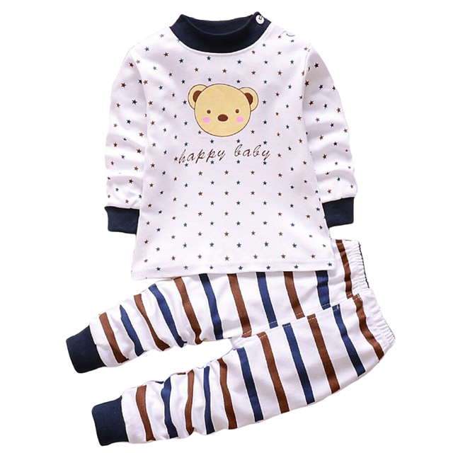 790f6290ba102 US $4.45 50% OFF|Baby boy girl clothes for kid babies boys Clothing for  newborns baby outfit children's pajamas Pyjamas wear boy up to 1 2 3  year-in ...