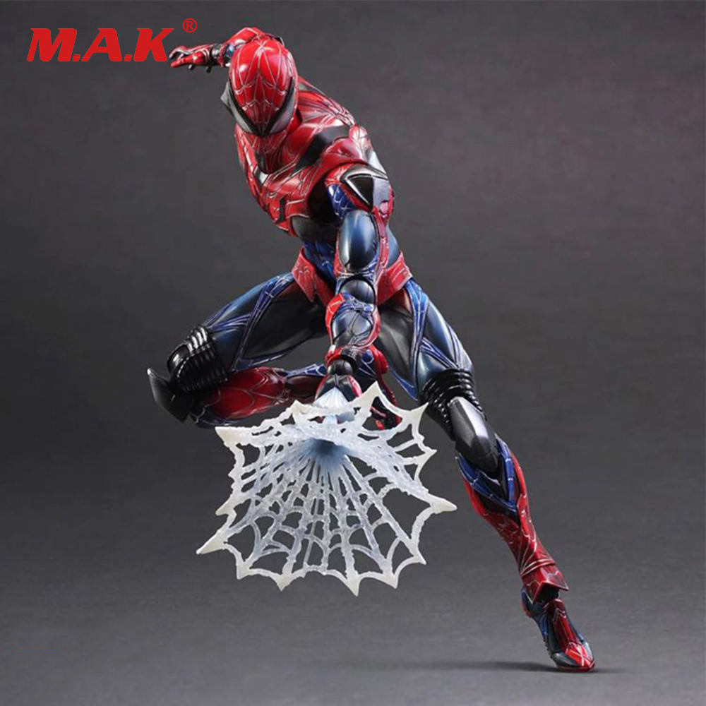 On Sale 26cm Super Hero Spiderman Action Figure Collectible Model Toy free shipping super big size 12 super mario with star action figure display collection model toy