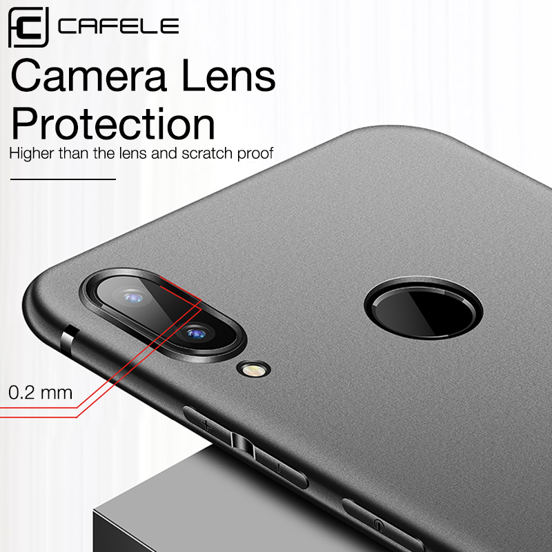 Cafele Matte TPU Case for Xiaomi Redmi Note 7 pro Ultra thin 0 4mm Soft Case Cover for Xiaomi Redmi Note 7 Case in Fitted Cases from Cellphones Telecommunications