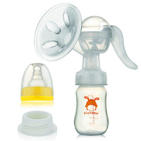 Silicone Manual Breast Feeding Pump Milking Machine Flat Nipples Pompe Mamelon Breast Nipple Pump Massager Maternity 70U017