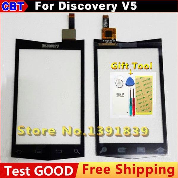 Новый Оригинальный Замена Сенсорного Экрана Digitizer Стекло для Китая Телефон Discovery V5 Внешний экран 3.5 ''+ инструмент + Бесплатная Доставка доставка
