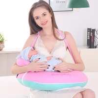 Baby Nursing Pillow Breastfeeding Pillow Multi functional Newborn Feeding Pillow Pregnant Woman Mommy Support Waist Cushion