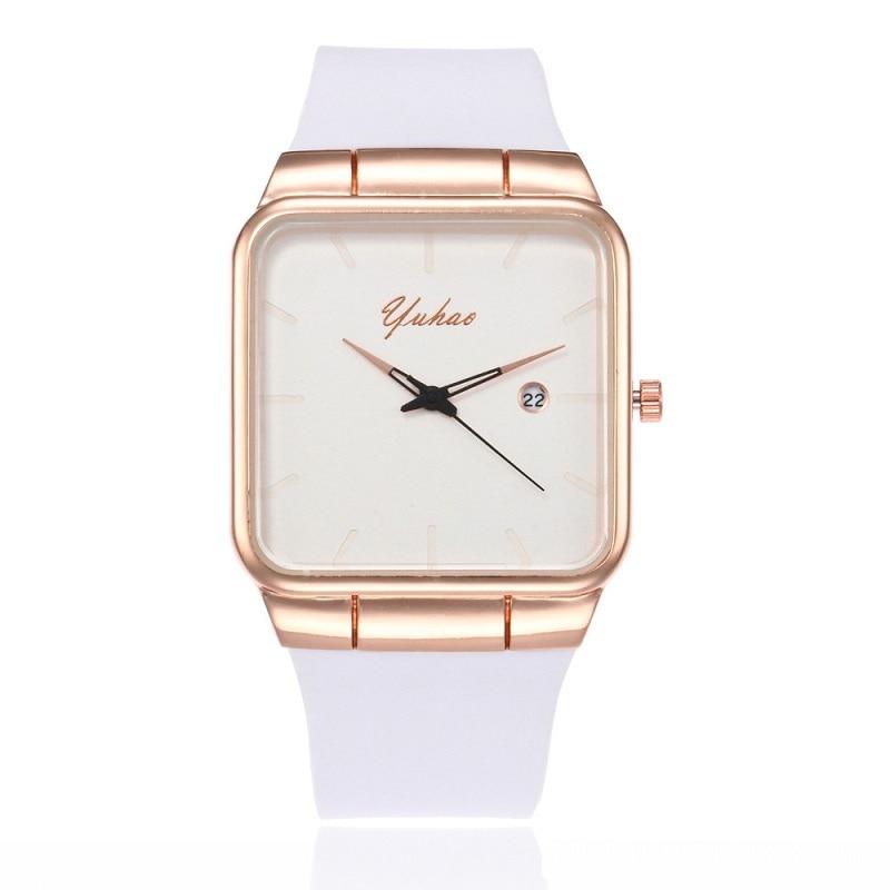 new Ultra Thin font b Women b font Watches Silicone Square reloj mujer Luxury font b
