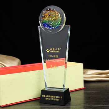 Crystal Trophy Cup Customize Creative Encourage Souvenir