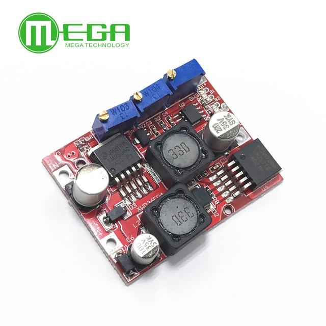 10 個XL6019 交換LM2577S LM2596Sステップアップダウン昇圧降圧電圧電源コンバータモジュール非絶縁定電流ボード
