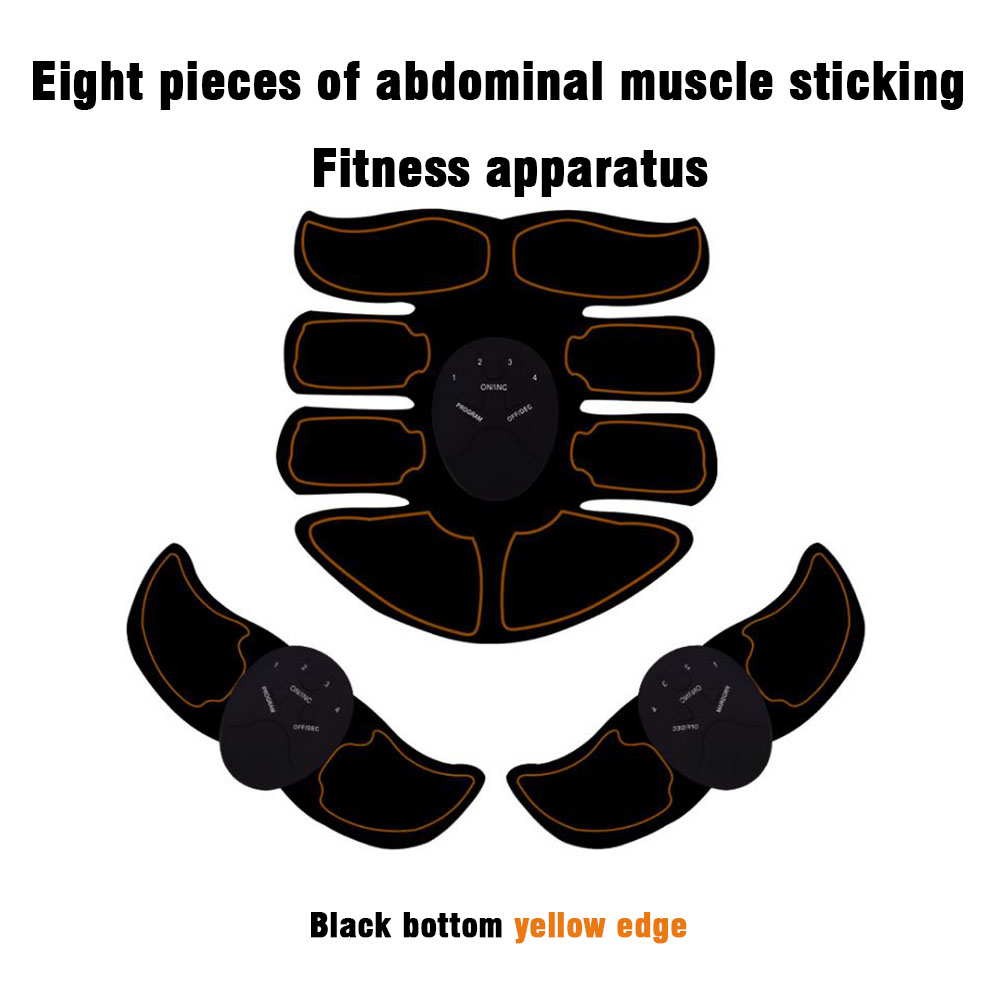 Electric Bodybuilding Fitness Muscle Stimulator Abdominal Arm Muscle Trainer Gym Equipment Body Slimming Fat Burning Exercises