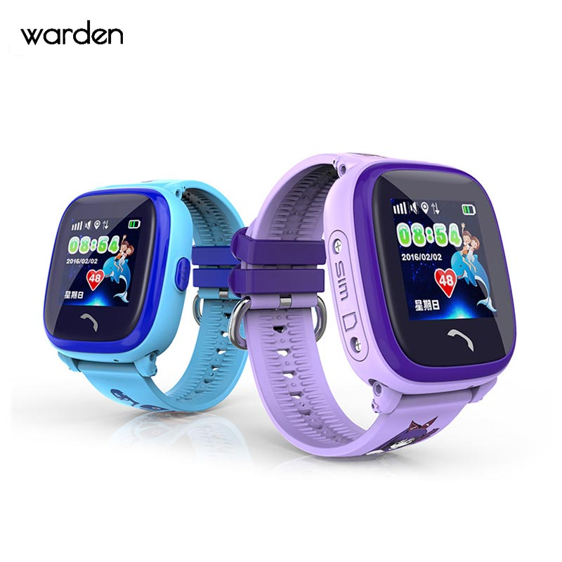 Kids Swimming OLED Watch Child Smartwatch GPS Touch Phone Children Watch SOS Call Location Device Tracker Safe Anti-Lost Monitor