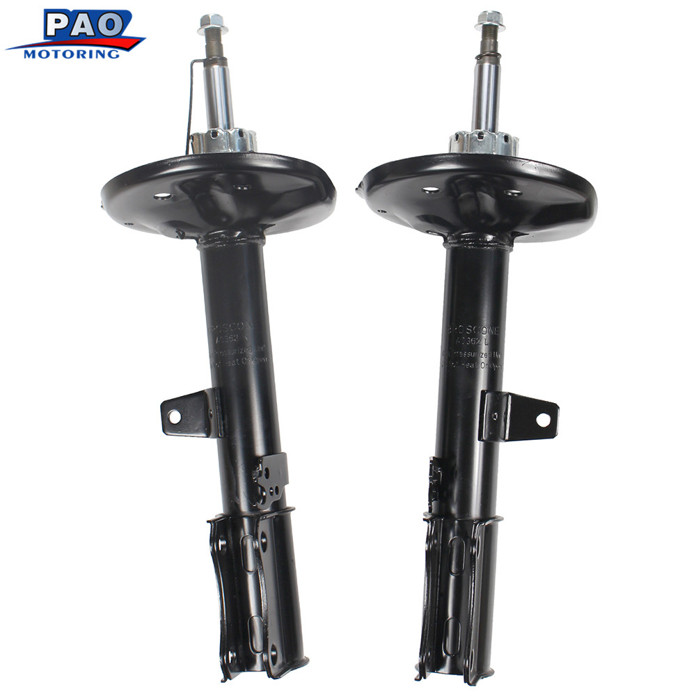 2PC New Rear Left and Right Pair Shocks Struts Absorber For 2001 2002 2003 TOYOTA HIGHLANDER FWD OEM 71496,71497 suspension car dhl ems free shipping for bmw x5 rear left right air suspension spring bag 37126790078 cars spring bag