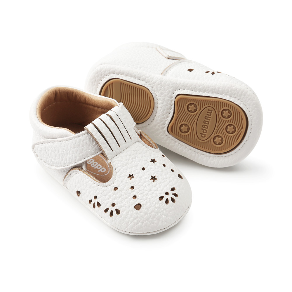 Delebao Nowy styl PU maluchy Noworodek buty z pałąkiem Płytkie - Buty dziecięce - Zdjęcie 5