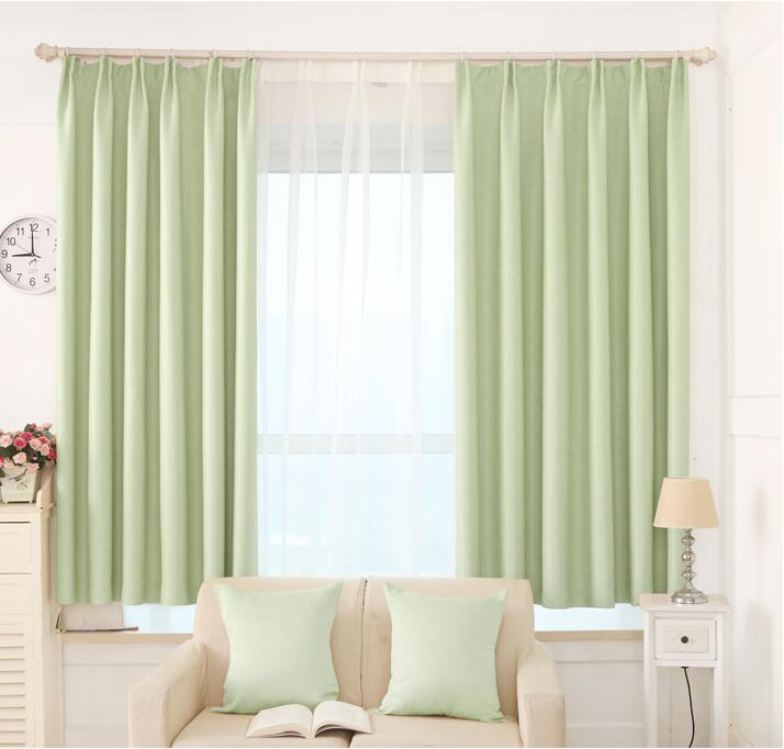 Solid window curtain luxury modern shade blinds rideau for Autrefois home decoration rideaux