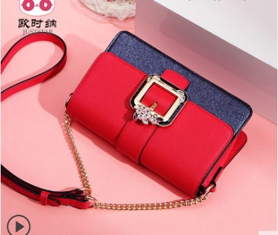 Princess sweet lolita JUSTSTAR bag The spring tide hit Korean color all-match Casual Fashion Shoulder Bag Messenger Bag 171801 the new spring and summer 2017 fashion leisure bag shoulder messenger korean all match embroidery doctor