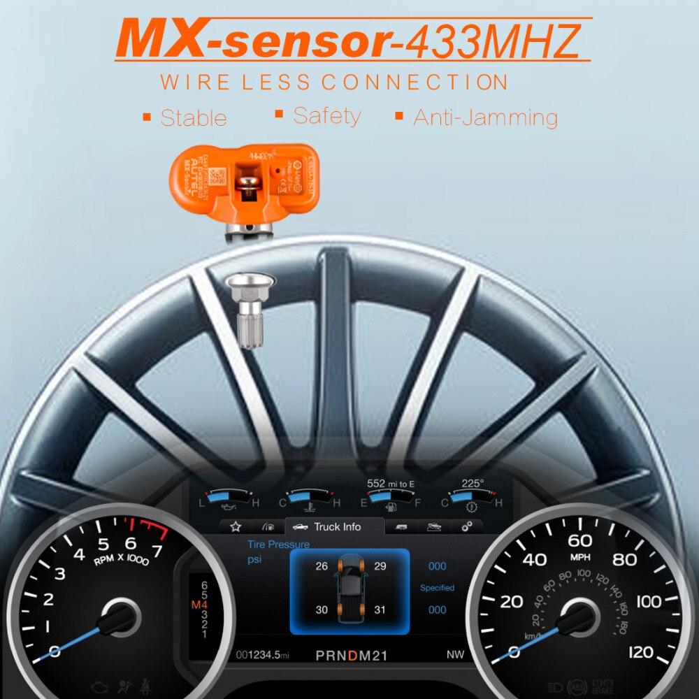Autel TPMS Sensor Tire Pressure Alarm MX Sensor 433MHZ Support Programing With TS501/TS508k MX-Sensor 433MHz Universal Programm