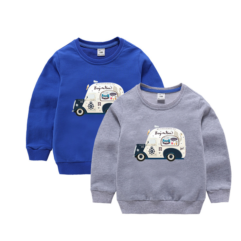 toddler baby Spring autumn kids clothes pullover in the children's shirt cartoon car shirts girl boy long sleeve tops T-shirt