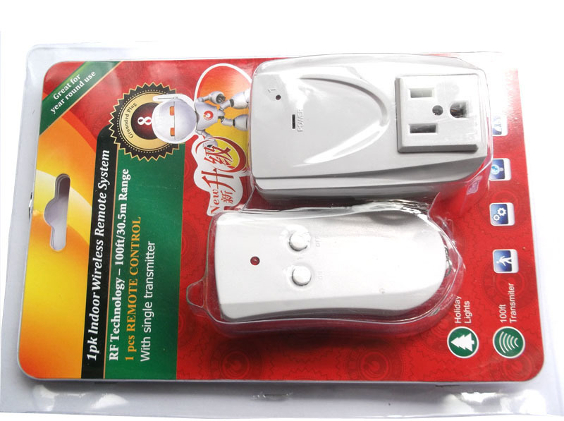 Free Shipping USA Standard Outdoor Remote Control Outlet Wireless AC Power  Outlets Light Switch Socket Plug In Smart Power Socket Plug From Consumer  ...
