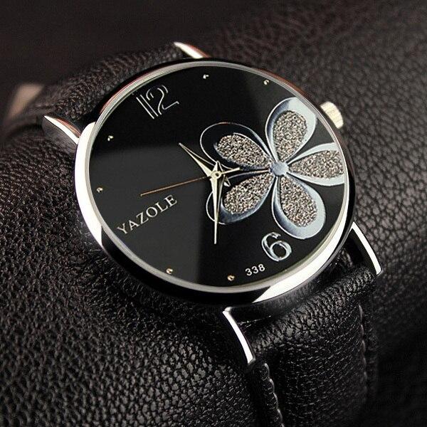 YAZOLE Flower Quartz Watch Women Watches 2018 Brand Luxury Fashion Female Clock