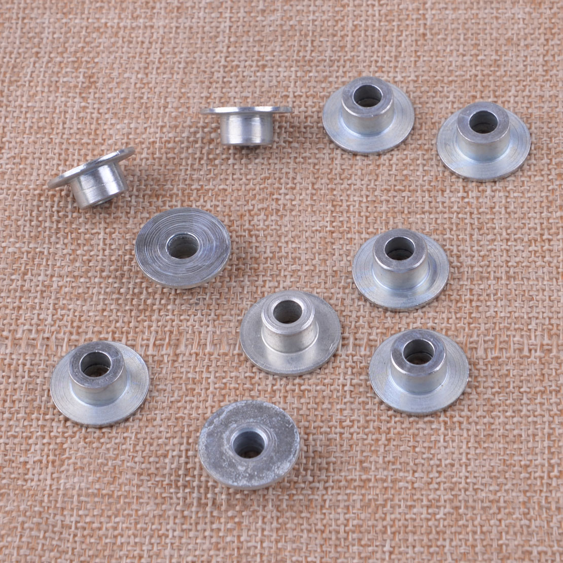 LETAOSK 10pcs Metal Brake Handle Bushing Sleeve Spacer Washer Silver 503775201 Fit For Husqvarna 362 365 371 372 372XP Chainsaws|Tool Parts|Tools - AliExpress