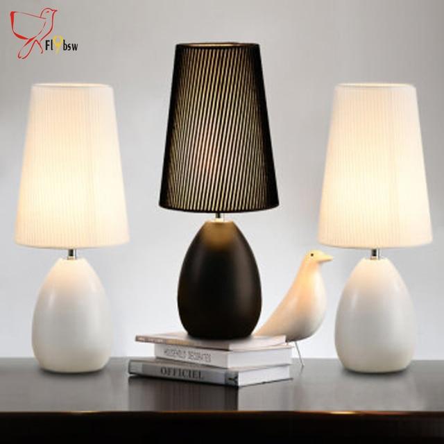 Moderne Tischlampen, Nordic Tuch Lampenschirm Metall Basis  Clip On Leseuntersuchung Schreibtisch Lampen Schlafzimmer