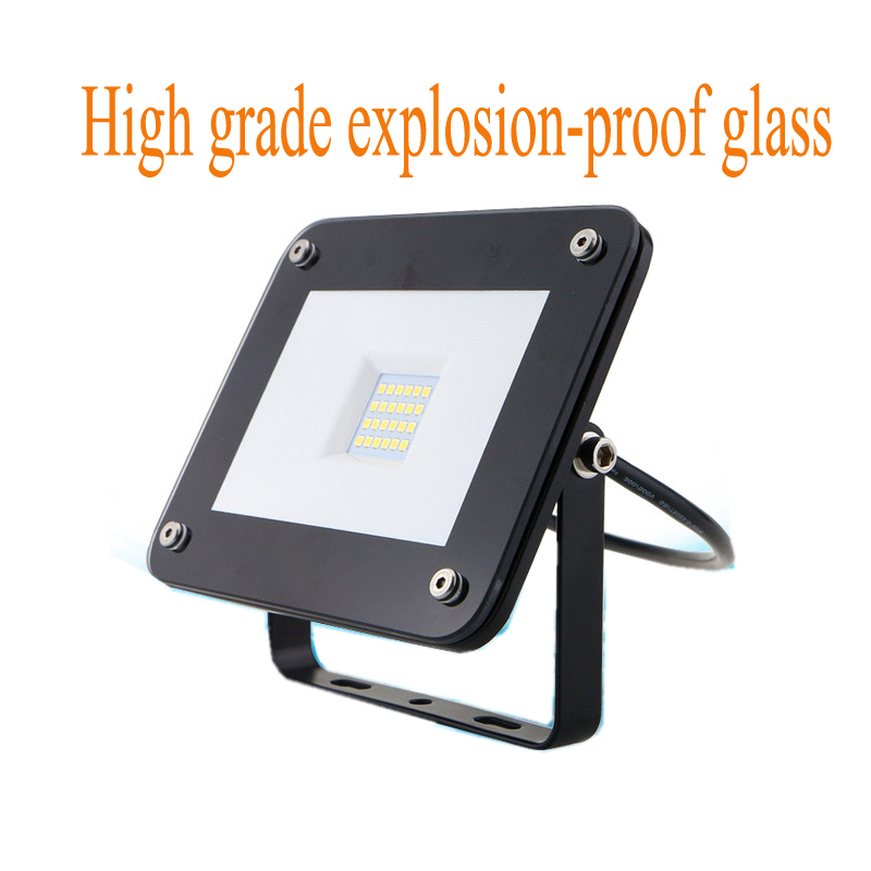 LED Flood Light 50W 30W Reflector Led Spotlight EU UK US Plug Floodlight Waterproof IP66 Outdoor Wall Lamp Garden Projector free shipping led flood outdoor floodlight 10w 20w 30w pir led flood light with motion sensor spotlight waterproof ac85 265v