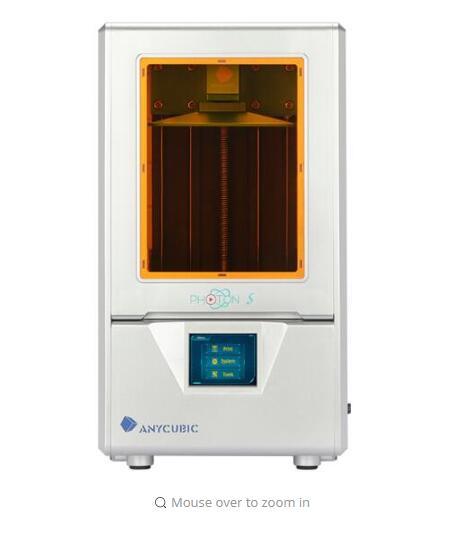 2019 Anycubic photopolymérisable 3D imprimante Photon-s De Bureau haute-précision de qualité industrielle 2 k écran lcd l'éducation