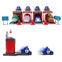 2019 4pcs Cartoon Poli Robocar Korea Robot Kids Toys  Anime Action Figure Super Wings Toys For Children Playmobil Juguetes