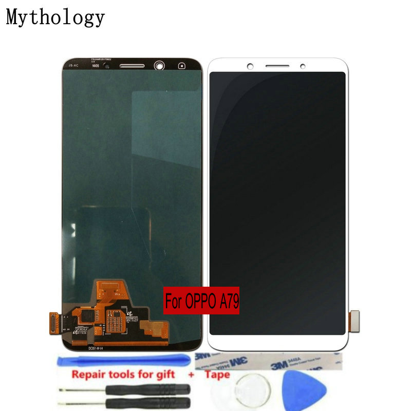 "For OPPO A79 A79t LCDs Touch Screen 6.01""Display Assembly Replacement Mobile Phone Panels Repair Tools Mythology(China)"