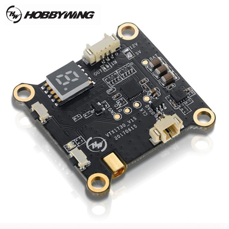 Hobbywing XRotor 5.8G 48CH 0/25/200mW Switchable Video FPV Transmitter VTX 7-25V 30.5x30.5mm for RC Racing Racer Multirotor DIY upgrade ts5823l 5 8ghz switchable 25mw 200mw 48ch av fpv transmitter module readytosky for fpv racer 130 qav x r qav210