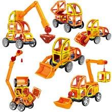 88 шт. большой размер магнитные строительные блоки Магнитный конструктор Набор Развивающие игрушки для детей Подарки для детей