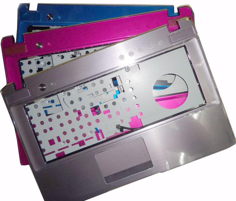 New Original Lenovo Ideapad Z470 Z475 Palmrest Keyboard Bezel Case Cover blue pink brown 33KL6TCLV80 EAKL6008010