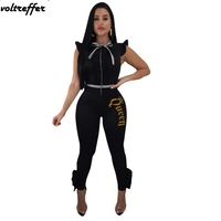 2018 Summer Letter Gold Stamp Rompers Womens Jumpsuit Long Pants Striped Bow Stringy Selvedge Ruffles Overalls Elegant Sexy