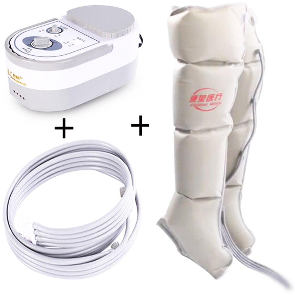 Электрический воздушный компрессионный массажер для ног Вибрация инфракрасная обработка руки Талия пневматический посылка Релаксация бо...