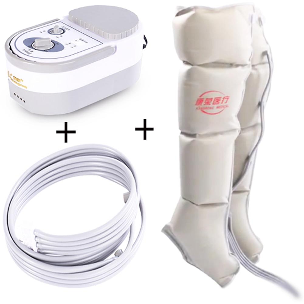 Compressão de ar elétrica perna pé massageador vibração tratamento infravermelho braço cintura pacote ar pneumático relaxamento alívio da dor