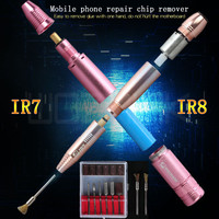 MECHANIC Multi function Electric Mobile phone repair chip remover chip grinding remover one hand removal glue pen IR8