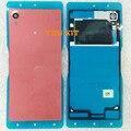 ВЫ КОМПЛЕКТ 100% Оригинальный Новый Крышка Батарейного Отсека Вернуться Корпус Дверь С NFC Антенны Клей Для Sony Xperia M4 Aqua E2303 E2333 E2353