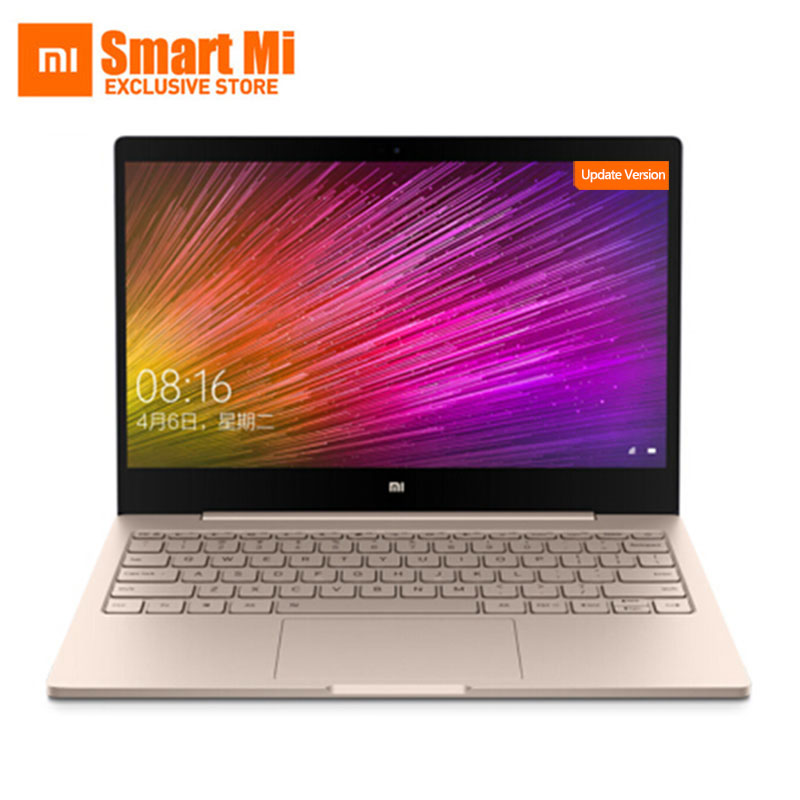 New Xiaomi Laptop Air 12.5 Inch Screen Intel Core M3-8100Y/i5 4GB RAM 128GB ROM Ultra Slim Full Meatal Body English Windows 10