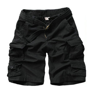 Image 4 - 2020 sommer Mode Militär Cargo Shorts Männer Hohe Qualität Baumwolle Casual Herren Shorts Multi tasche (Freies Gürtel)