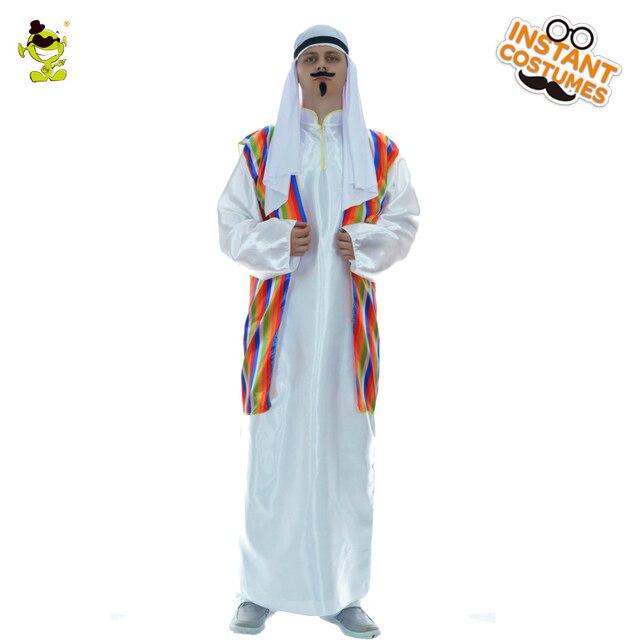 bdf00d2596dc € 28.05 |Traje árabe para hombre, traje de arabios de Oriente Medio, ropa  para adultos, disfraz de Carnaval de Halloween, disfraces de fiesta, traje  ...
