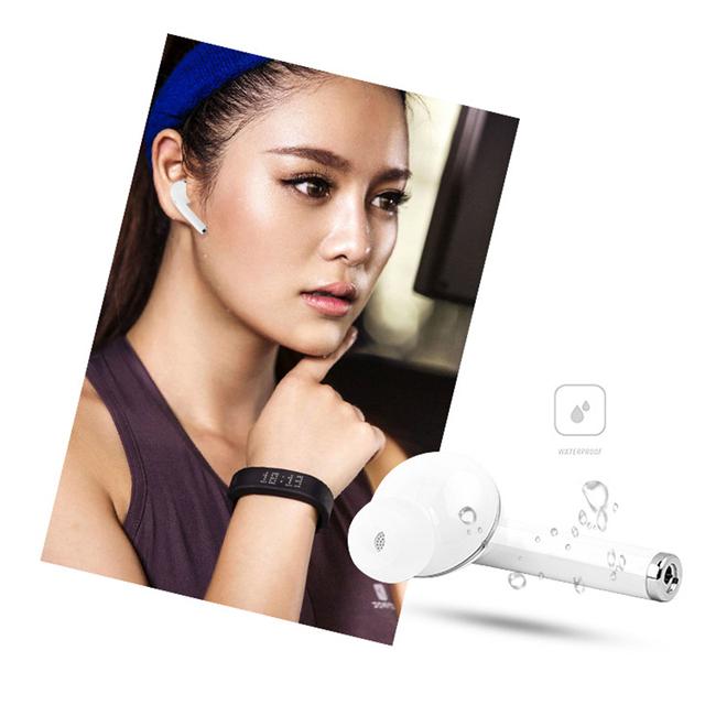 Wireless Earpiece Bluetooth Earphones I7 i7s TWS Earbuds Headset With Mic For Smart Phone Xiaomi Samsung Huawei LG