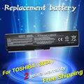 Batería del ordenador portátil para toshiba satellite pro c650 c660d l630 jigu L670 U400 U500 C650D C660 L640 U405D U400 U405 T135 A660D
