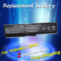 Bateria do portátil para toshiba satellite pro c650 c660d l630 jigu U400 U500 C650D C660 L640 L670 U400 U405 U405D T135 A660D