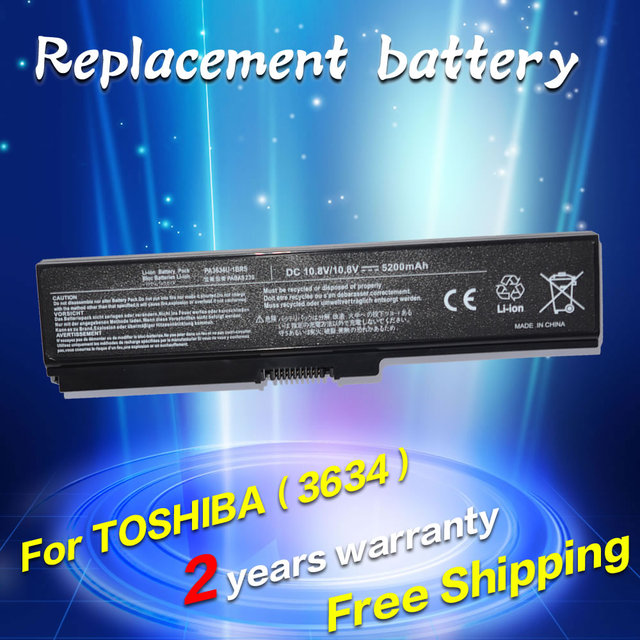 JIGU Laptop Battery For Toshiba Satellite Pro C650 C660D L630 L670 U400 U500 C650D C660 L640  U405D T135 U400 U405 A660D