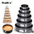 WALFOS сковороды для выпечки кухонный инструмент  форма для торта металлическая круглая форма для выпечки ПОСУДА антипригарная форма кухонны...